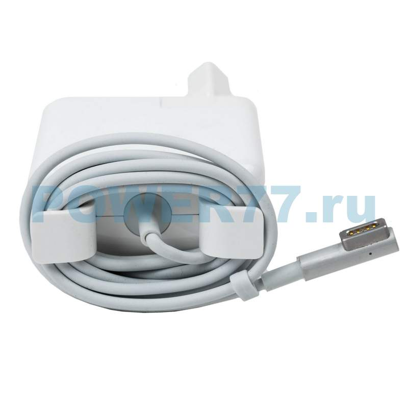Блок питания A1184/A1344 для ноутбука Apple MacBook/MacBook Pro (16.5V, 3.65A, 60W, разъем MagSafe L)